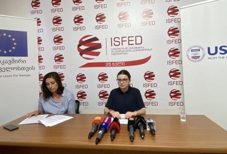 ამომრჩეველთა მოსყიდვის და პოლიტიკური ნიშნით დისკრიმინაციის სავარაუდო ფაქტები ISFED-ის II შუალედურ ანგარიშში