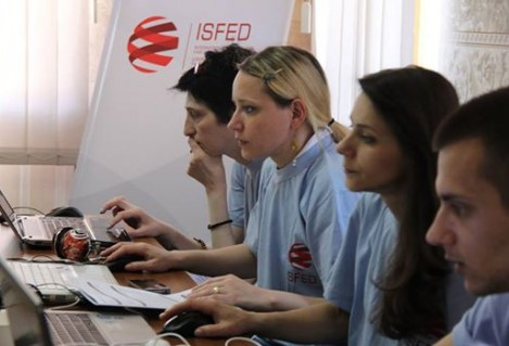 ISFED Conducted the Election Day Simulation