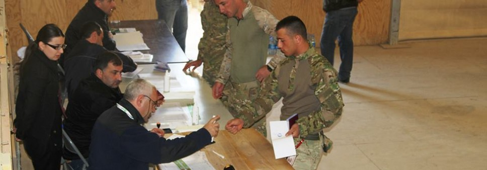 ISFED Monitored Presidential Elections of Georgia in Afghanistan
