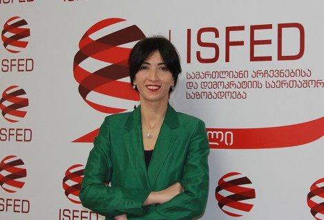 Nino Dolidze to Serve as a New Executive Director of ISFED