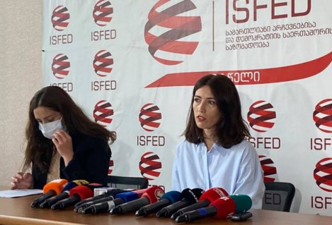 ISFED Presented Second Interim Report for the Official Election Period