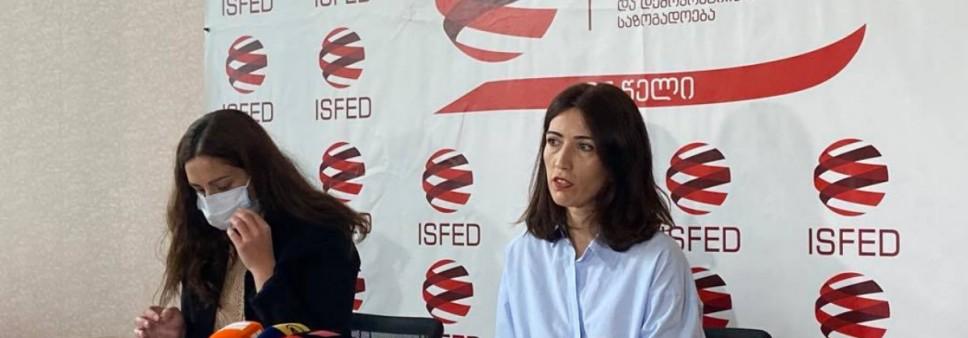 ISFED-მა 2021 წლის არჩევნების ოფიციალური წინასაარჩევნო პერიოდის  მონიტორინგის მეორე შუალედური ანგარიში წარმოადგინა