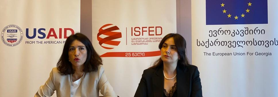 ISFED არჩევნების წინა პერიოდის პოლიტიკურ გარემოს აფასებს