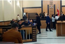 TRIALS OF DETAINED DEMONSTRATORS WERE HELD WITH GRAVE VIOLATIONS